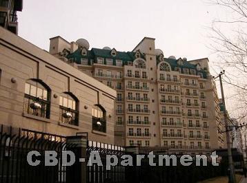 和乔丽晶公寓外观设计为古典欧式风格